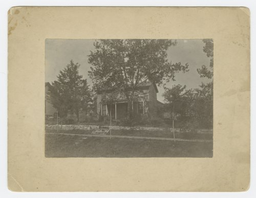 Henry J. Adams house, formerly home of Sheriff Jones, Lecompton, Kansas - Page