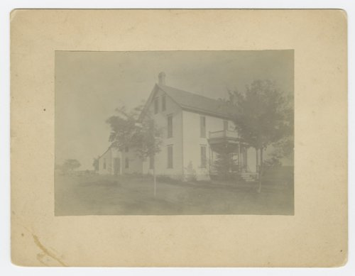 Colonel Nace home, Lecompton, Kansas - Page