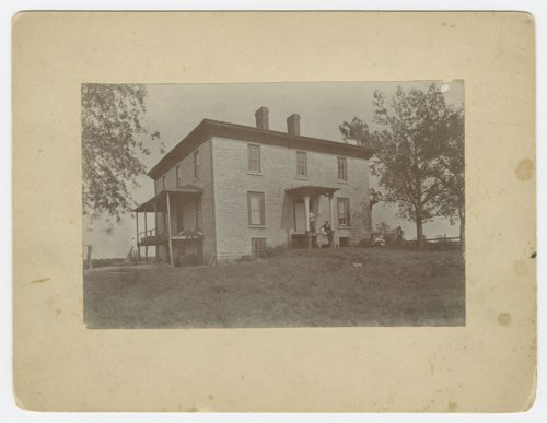 Mount Aeolia, home of Territorial Governor Frederick P. Stanton, Lecompton, Kansas - Page
