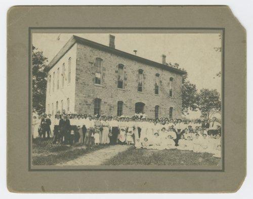 Group at Lane University, Lecompton, Kansas - Page