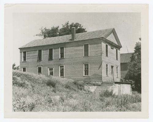 View of Constitution Hall in Lecompton, Kansas - Page