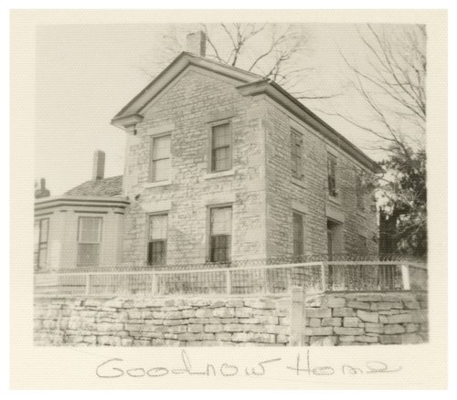 Views of the Isaac Goodnow house and barn, Manhattan, Kansas - Page