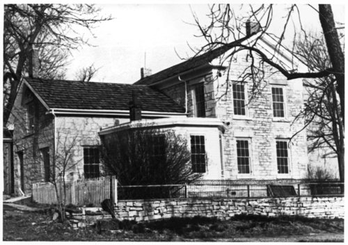Views of the Isaac Goodnow residence, Manhattan, Kansas - Page