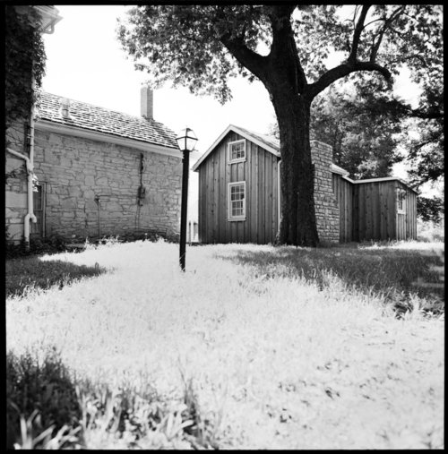 Views of the Isaac Goodnow house, Manhattan, Kansas - Page