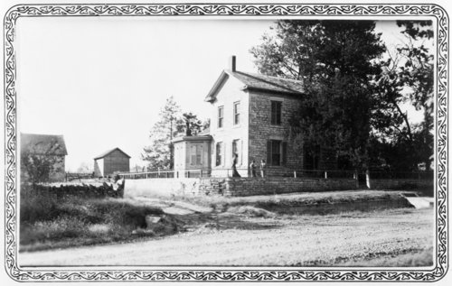 Isaac Goodnow's residence, Manhattan, Kansas - Page