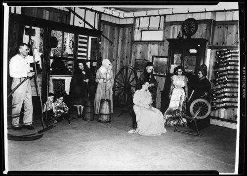 Display at the Marais des Cygnes Massacre State Historic Site, Linn County, Kansas - Page