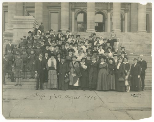 Suffragists, Topeka, Kansas - Page