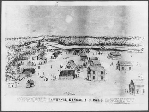 Lawrence, Kansas, 1854-1855 - Page