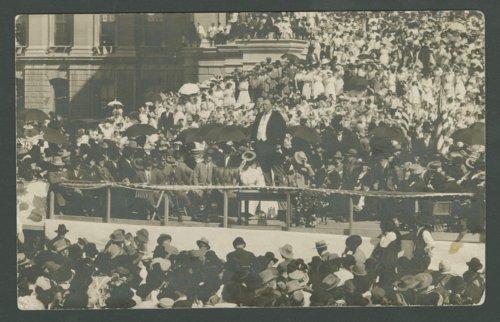 President William Howad Taft, Topeka, Kansas - Page