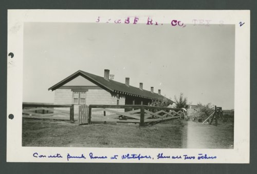 South Plains & Santa Fe Railway Company, Whiteface, Texas - Page
