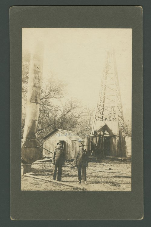 Skelly Oil Company, oil well #6, Augusta, Kansas - Page