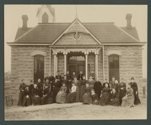 Hesperian Library Club, Cawker City, Kansas - Page