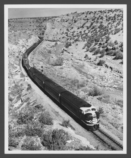Atchison, Topeka & Santa Fe Railway Company diesel engine #215C - Page