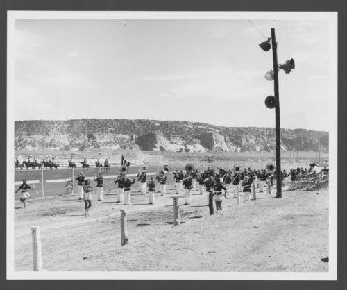 Atchison, Topeka & Santa Fe Railway Company band, Window Rock, Arizona - Page