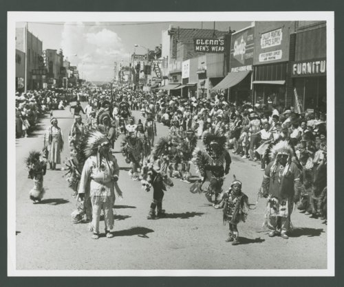 Atchison, Topeka & Santa Fe Railway Company band, Gallup, New Mexico - Page