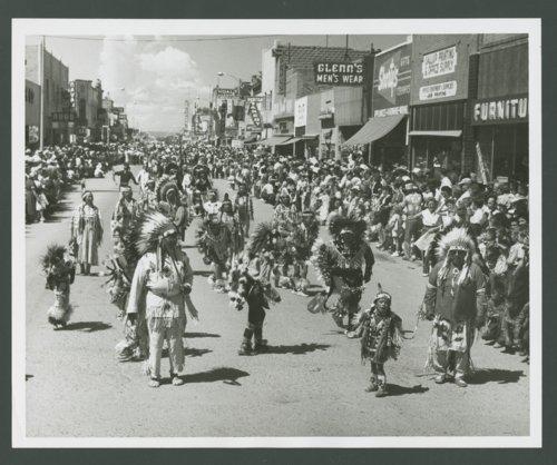 Atchison, Topeka and Santa Fe Railway Company band, Gallup, New Mexico - Page