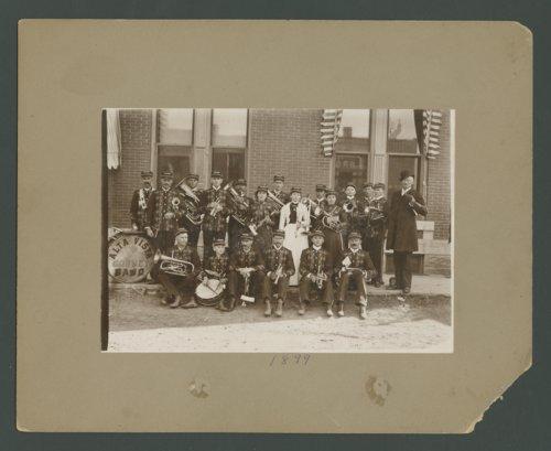 Alta Vista Cornet Band in Council Grove, Kansas - Page