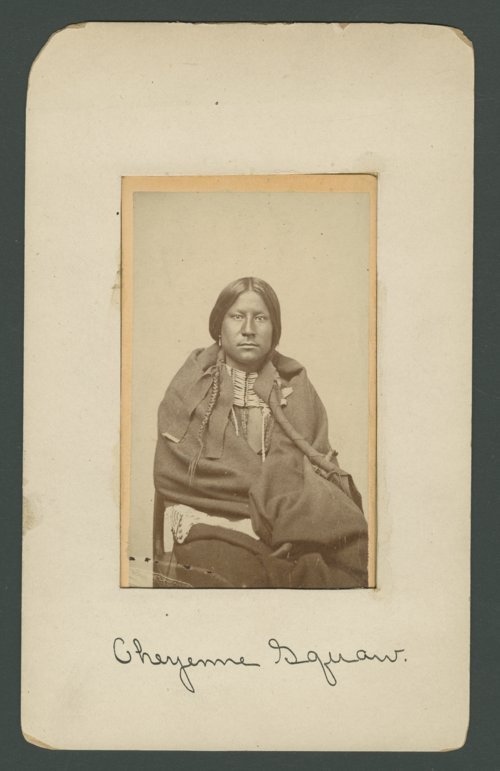 Unidentified Cheyenne man - Page