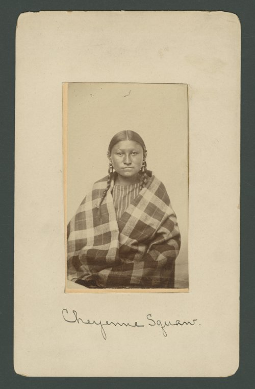 Unidentified Cheyenne woman - Page