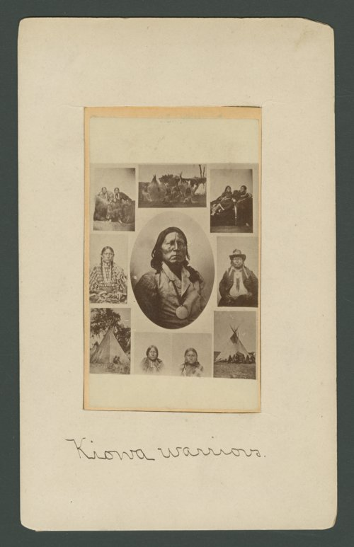 Composite of Satanta and other Native American images - Page