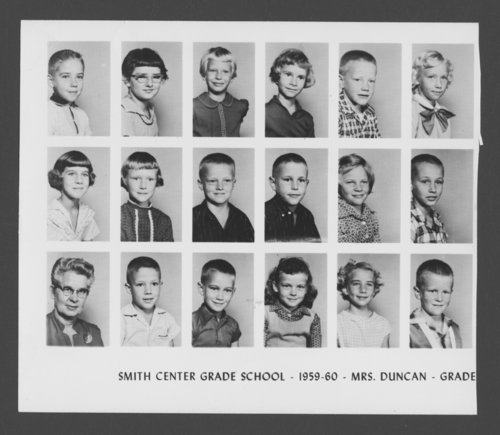 Elementary school students in Smith Center, Kansas - Page