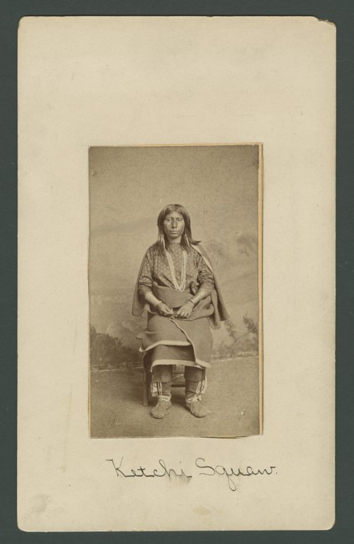 Kichai woman, Indian Territory - Page