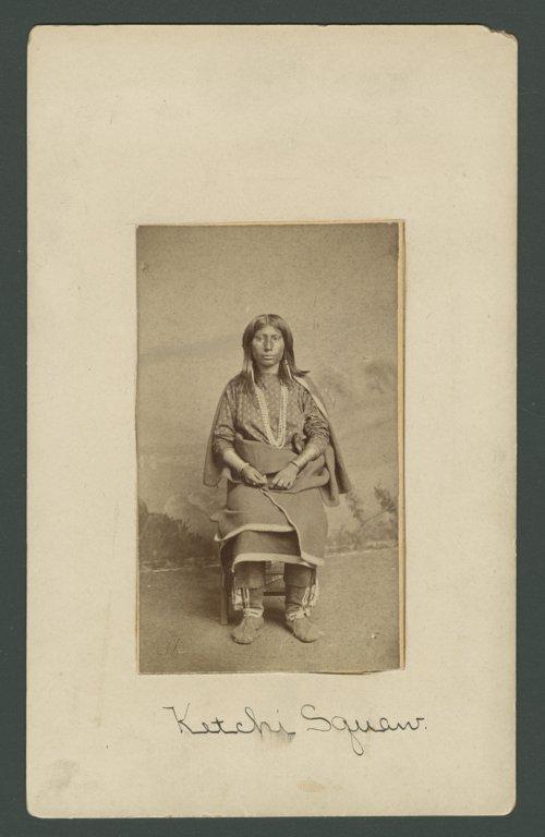 Kichai woman, Indian Territory - Page