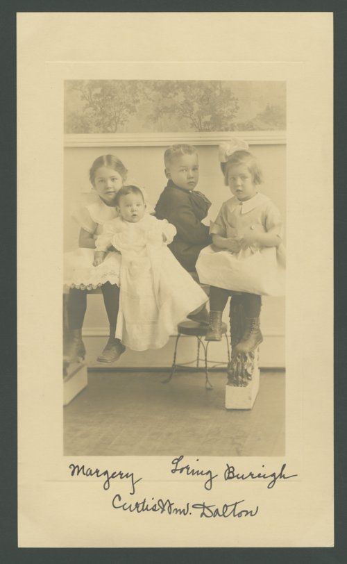 Children of William B. and Margery Bowersock Dalton - Page