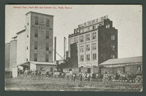 Pratt Mill and Elevator Company, Pratt, Kansas - Page