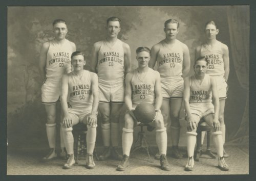 Kansas Power and Light basketball team, Axtell, Kansas - Page