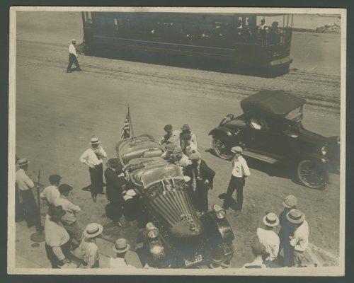 Budweiser beer car, Topeka, Kansas - Page