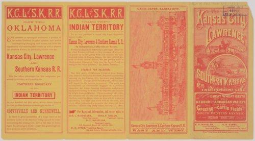Kansas City, Lawrence and Southern Kansas Railroad - Page