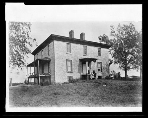 Possible first governor's house in Lecompton, Kansas - Page