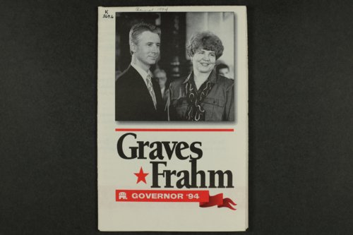 Graves, Frahm, Governor '94 - Page