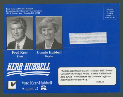 Fred Kerr and Connie Hubbell for Governor & Lt. Governor - Page