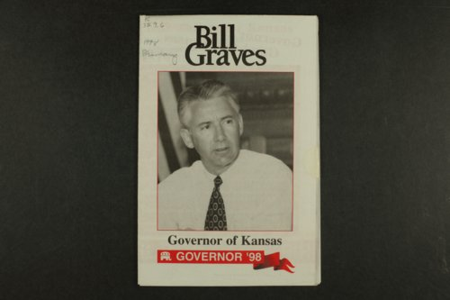 Bill Graves Governor of Kansas, Governor '98 - Page