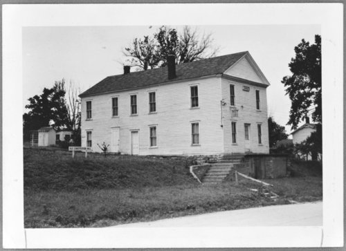 Constitution Hall in Lecompton, Kansas - Page