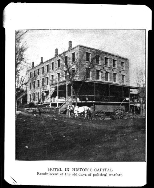 Rowena Hotel in Lecompton, Kansas - Page