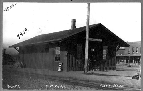 Union Pacific Railroad Company depot in Perry, Kansas - Page