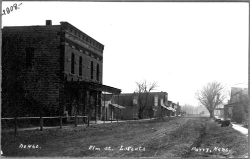 Elm Street in Perry, Kansas - Page
