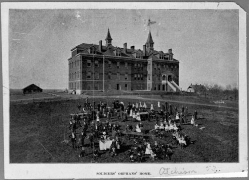 Soldier's Orphan's Home, Atchison, Kansas - Page
