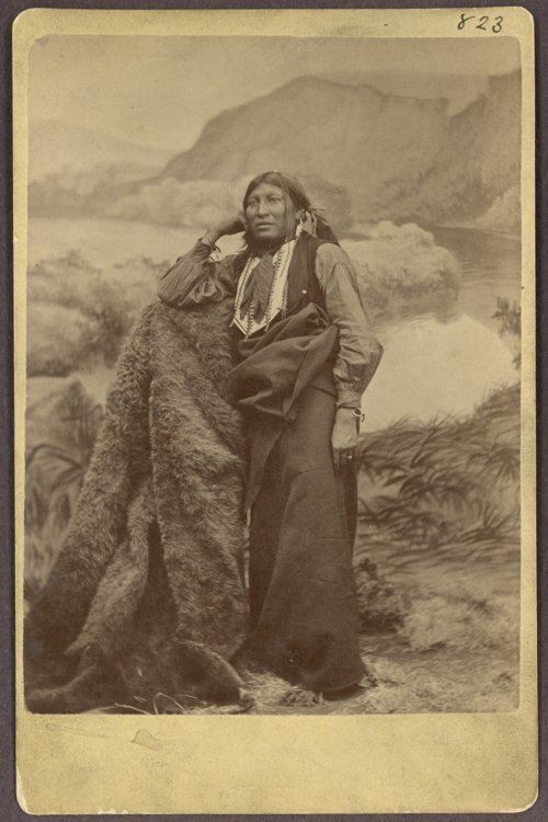 White Eagle, Comanche, in Indian Territory - Page