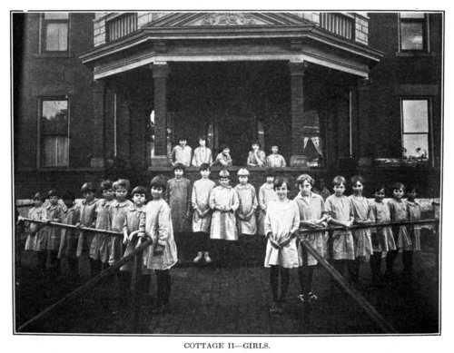 Girls at the State Orphans Home in Atchison, Kansas - Page