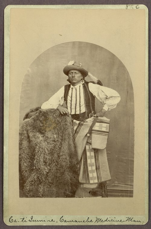 Quanah Parker, Comanche, in Indian Territory - Page