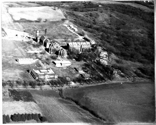 Aerial view of the Kansas State Children's Receiving Home in Atchison, Kansas - Page