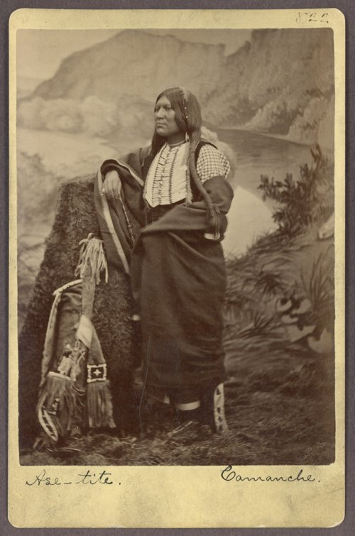 Ase-tite, Comanche, in Indian Territory - Page