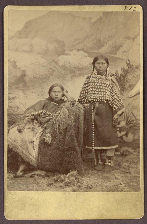 Daughters of Stumbling Bear, Kiowa Indian - Page