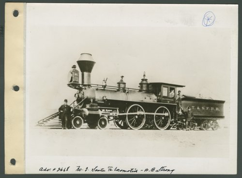 Atchison, Topeka & Santa Fe Railway Company's Wm B. Strong #2  locomotive - Page