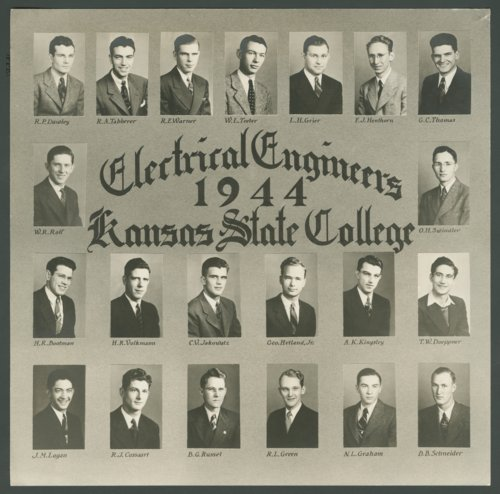 Electrical engineers at Kansas State College in Manhattan, Kansas - Page
