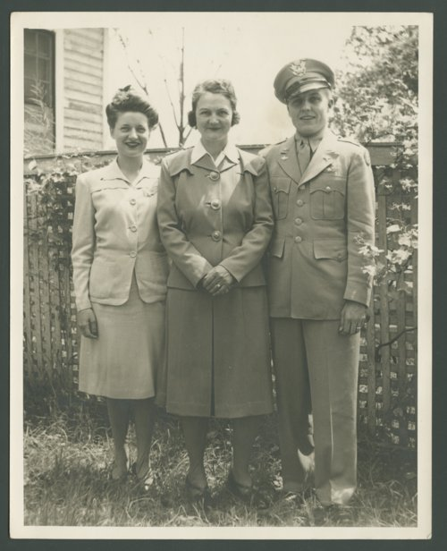 Geraldine Buhler Smith, Bernice Smith, and Lt. Glee S. Smith, Jr. - Page